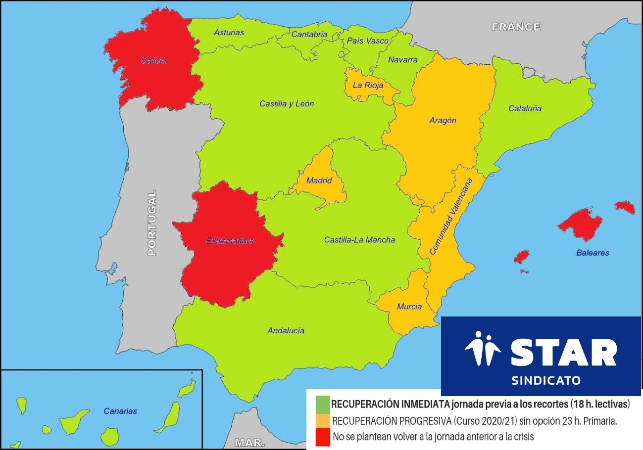 Calendario Escolar 202018 Castilla La Mancha.Respecto A La No Recuperacion De La Jornada Lectiva Star